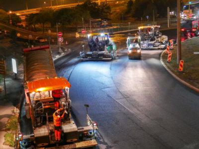 Enrobé asphalte fourniture de produits bitumineux pour le BTP
